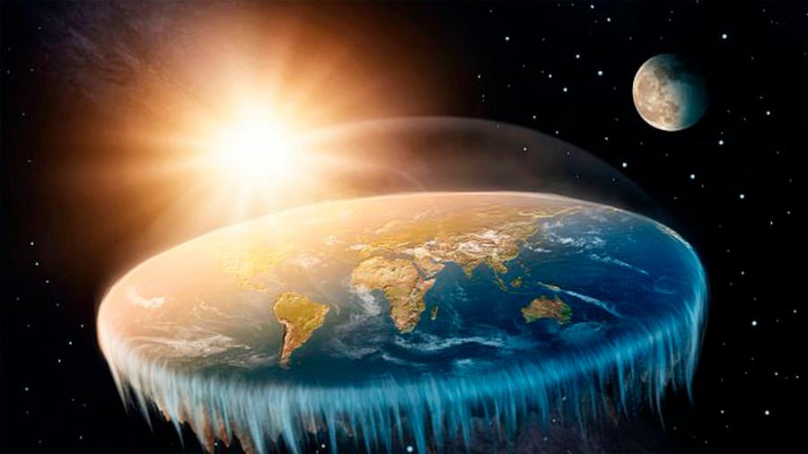 Así son los que piensan que la Tierra es plana