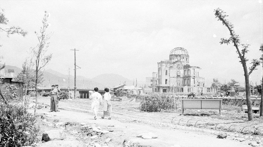Descubren donde están los edificios pulverizados por la bomba de Hiroshima