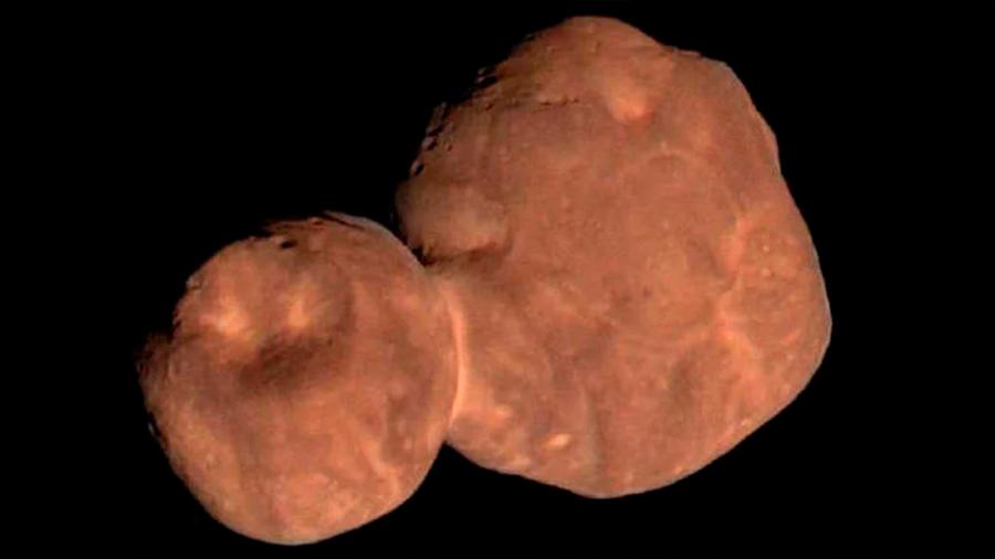 Hallan evidencias de agua en el asteroide Ultima Thule