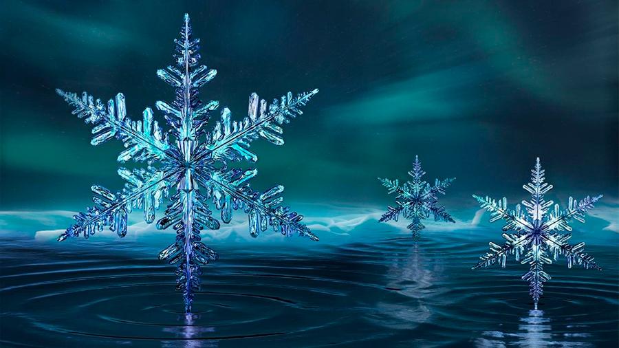 Una observación inesperada del hielo cuestiona la teoría del agua