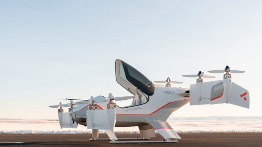 Airbus muestra el interior de su futurista aerotaxi Vahana