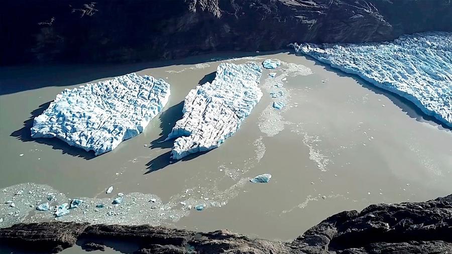 Muere investigador en misión científica en el glaciar Grey, en Chile