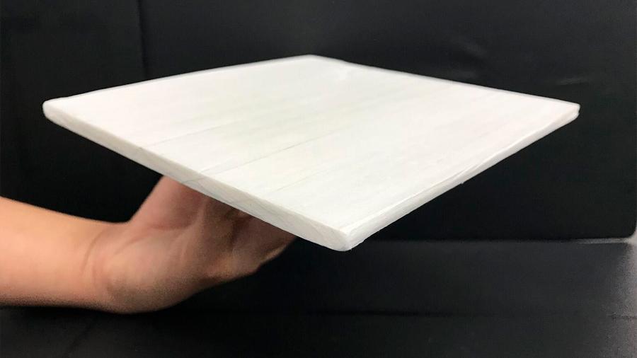 Una 'madera refrigerante' puede reducir un 50% el coste de climatizar