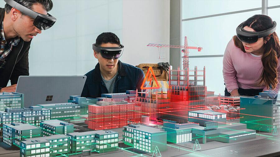 Realidad mixta, una nueva manera de construir edificios