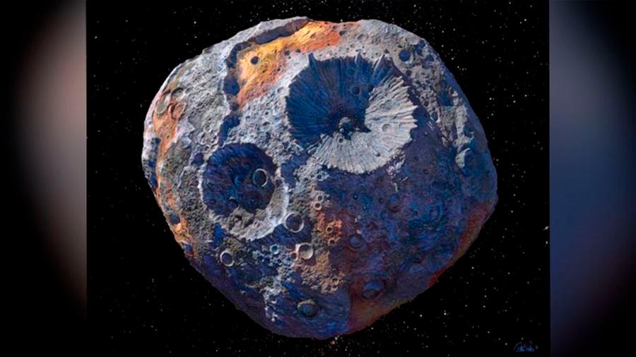 La NASA localiza un asteroide de oro que podría estar valorado en miles de millones de dólares