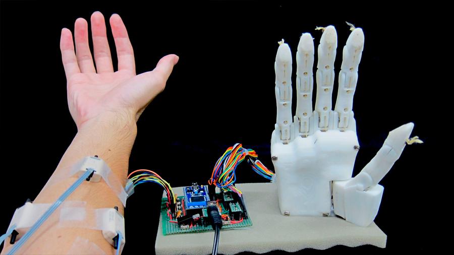 Desarrollan una mano robótica muy precisa que requiere un entrenamiento mínimo