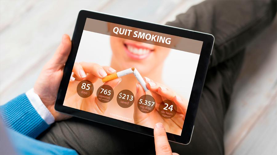 """Científicos japoneses confirman efectividad de una """"app"""" para dejar de fumar"""