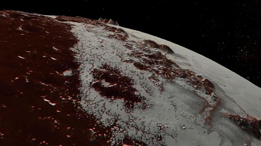 En el helado Plutón, los volcanes pueden derramar agua líquida