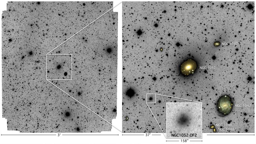 Resuelto el misterio de la galaxia sin materia oscura