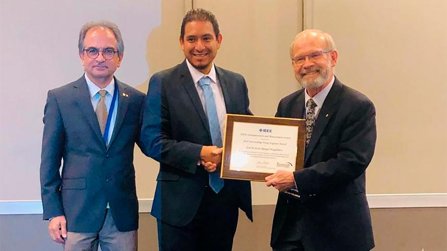 Distingue por primera vez sociedad internacional de instrumentación y medición a un mexicano