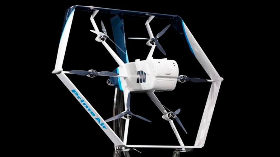 Amazon presenta su nuevo dron para hacer entregas a casa