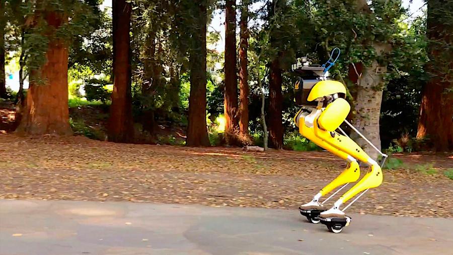 Robot bípedo estadounidense ahora sabe patinar
