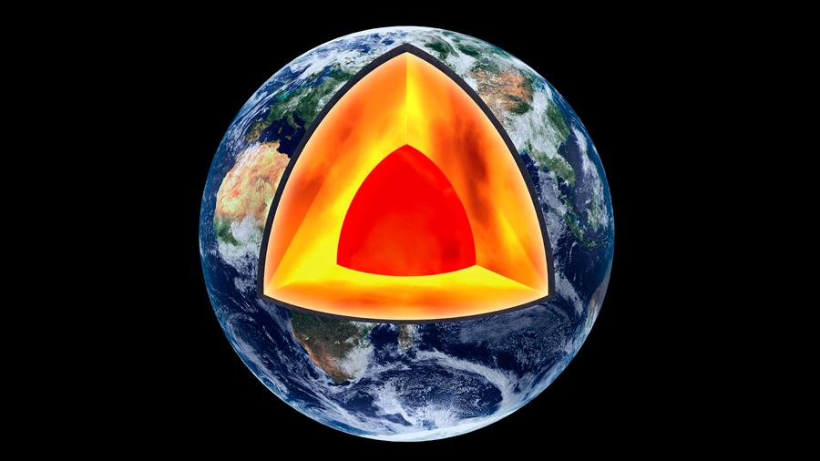 Imprevisto magnetismo se extiende en el manto terrestre bajo el Pacífico