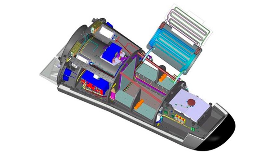 La ESA presenta una nave orbital reusable para carga científica