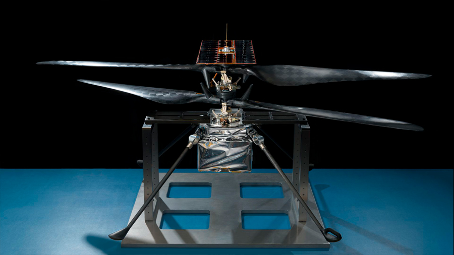 El primer helicóptero de Marte supera pruebas clave de funcionamiento
