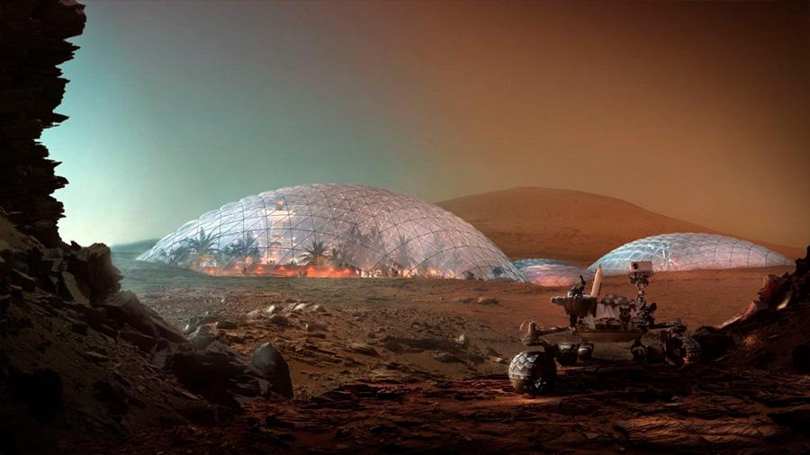 La primera ciudad marciana estará en Dubái
