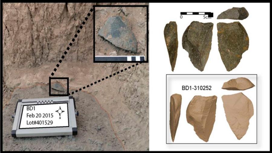 Descubierta en Etiopía la herramienta de piedra afilada más antigua