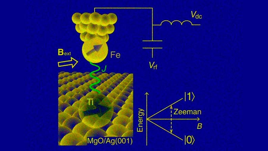 """Por primera vez se logra """"sintonizar"""" el campo magnético de un solo átomo"""