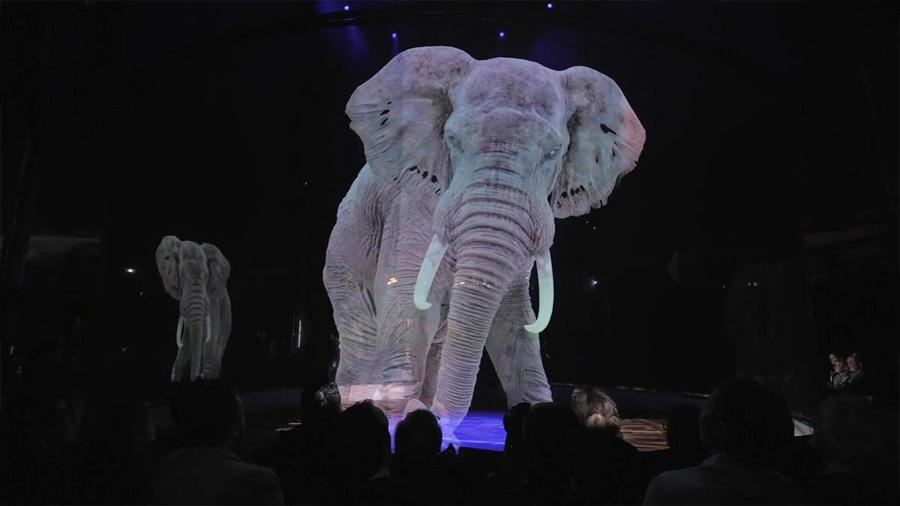 Circo alemán cambia los animales por hologramas