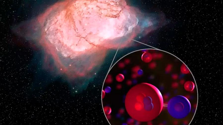 Las primeras moléculas en el Universo: Una historia del ion molecular de hidruro de helio