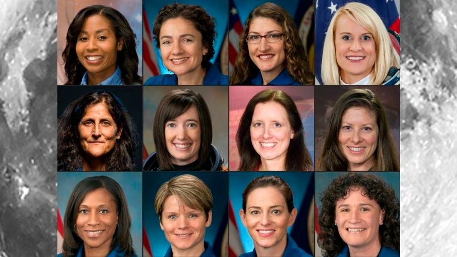 Entre 12 mujeres se halla se encuentra la primera astronauta que viajará a la Luna