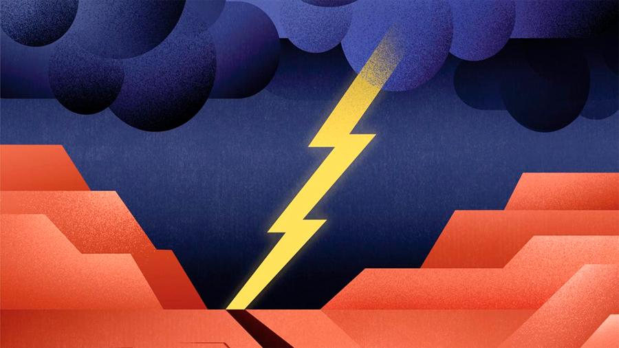 Nueva controvertida teoría: señales precursoras de un gran terremoto podrían aparecer a 300 kms de la superficie