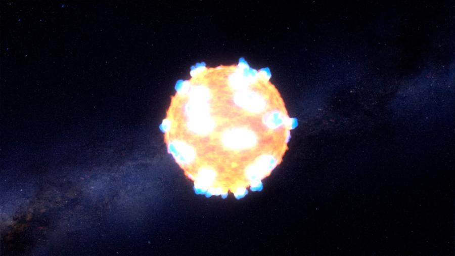 El estallido de una supernova convirtió los bosques en sabanas e impulsó el bipedismo en los humanos