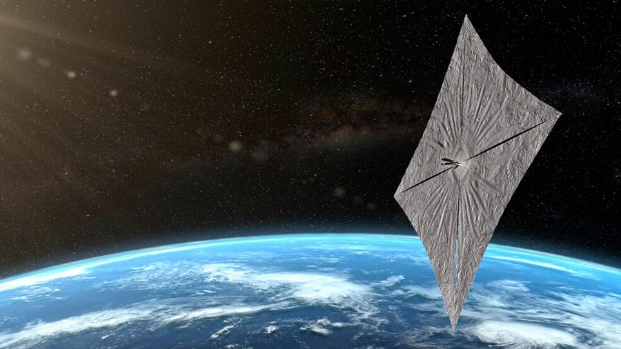 Velas impulsadas por la luz, la revolucionaria manera de viajar por el espacio