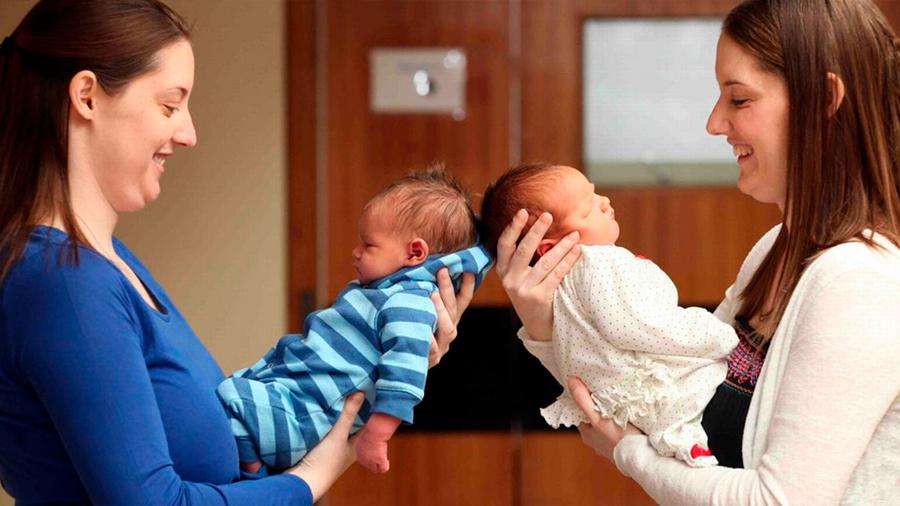 Si dos gemelas tienen hijos con dos gemelos, ¿los primos serían genéticamente idénticos?
