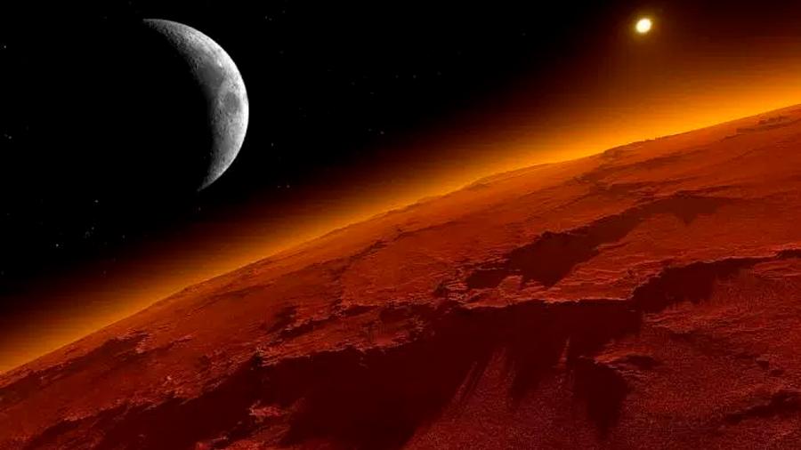 Encuentran gas y microorganismos vivos en Marte
