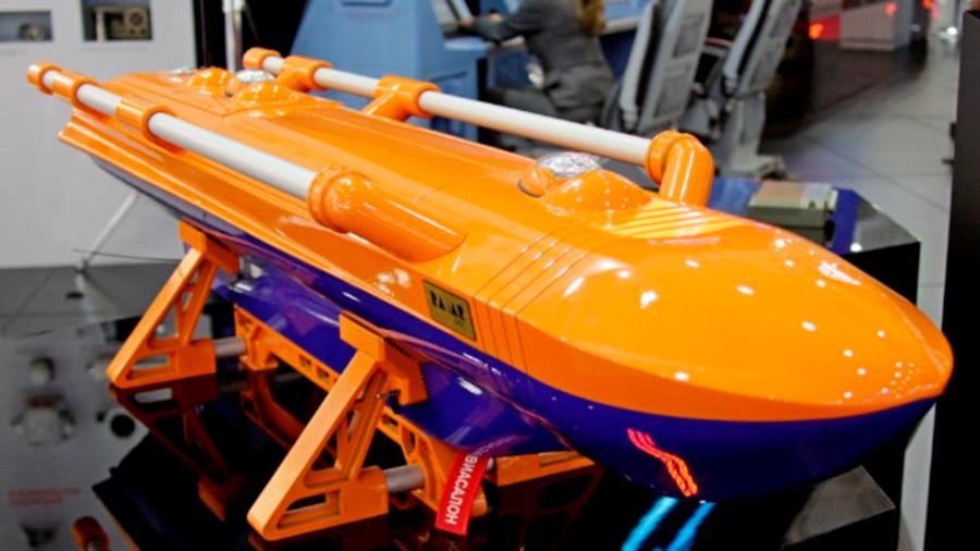 'Baywatch' futurista: rusos presentan un robot eléctrico salvavidas para rescates a mar abierto