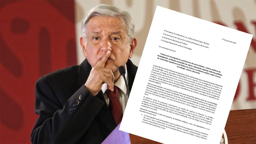 Demandan investigadores mexicanos al presidente AMLO modificar su discurso denostador hacia los científicos
