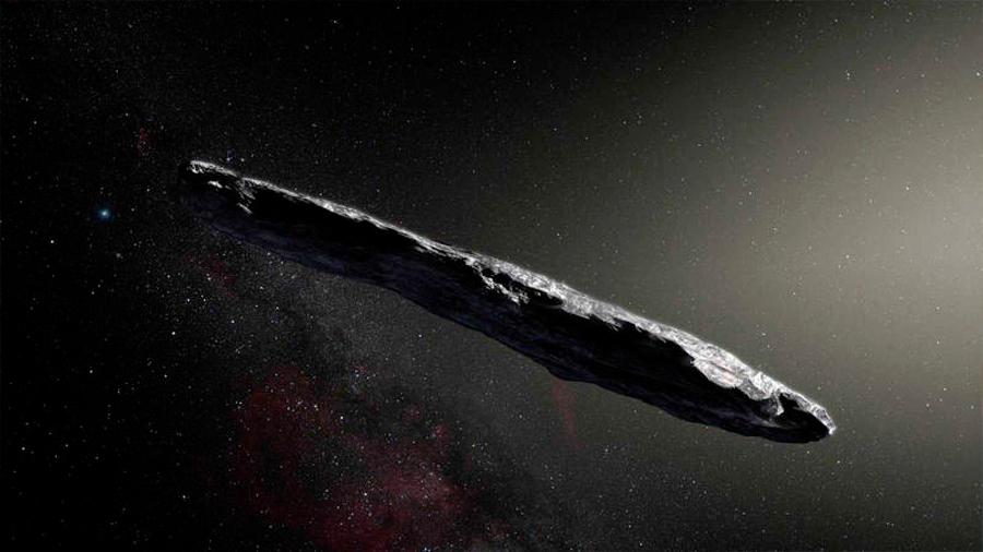 Nuevos análisis apuntan al origen natural de Oumuamua, el primer visitante interestelar