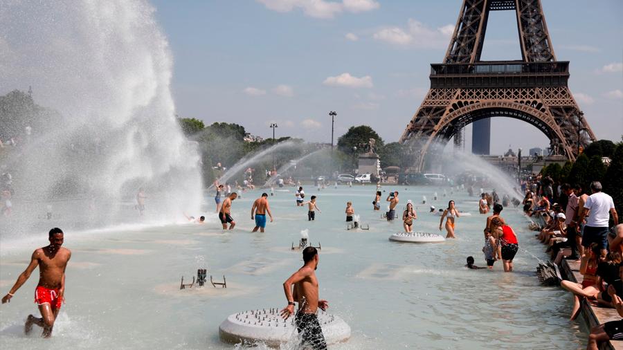 El cambio climático elevó 4°C el calor el mes pasado en Europa