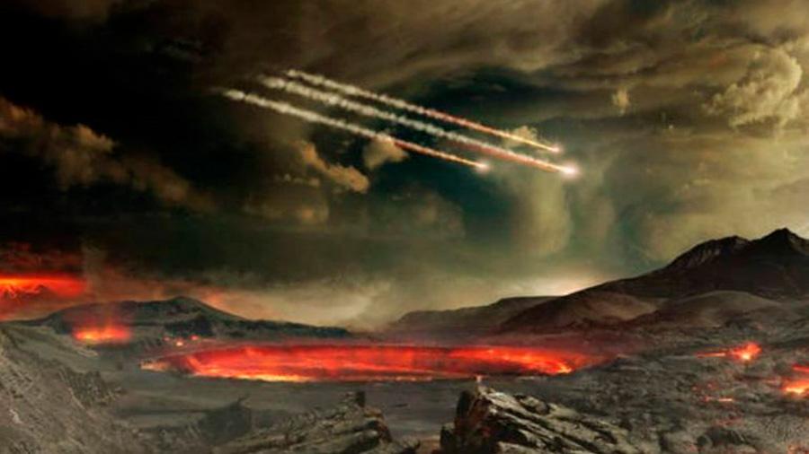 Cianuro en meteoritos, probable factor del origen de la vida