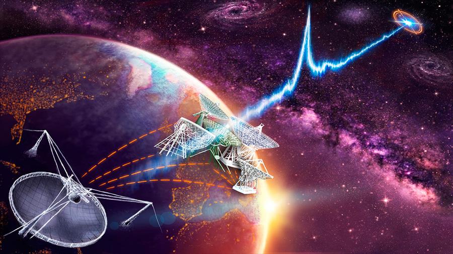 Hallan segunda ráfaga de señales de radio del espacio originada 3,000 años antes de formarse la Tierra