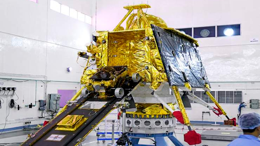 India se dirige este domingo a estudiar la Luna con el lanzamiento de Chandrayaan-2