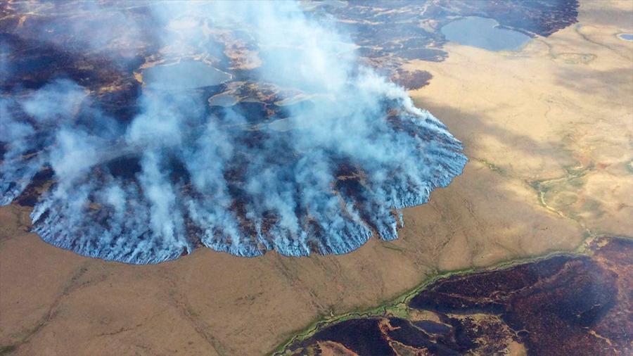 Gravísimo: más de 100 incendios en el círculo polar ártico debido a altas temperaturas