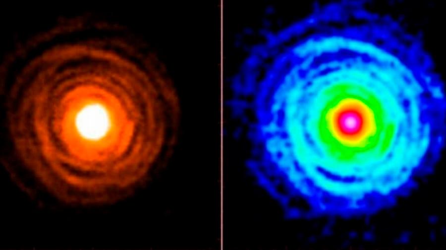 Hallan la primera molécula con calcio en el espacio