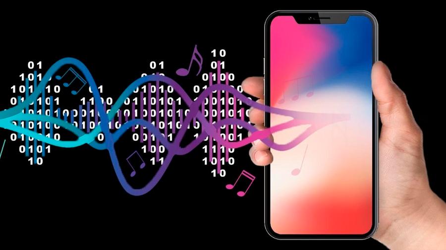 Cargan datos en música para llegar a un 'smartphone' por el micrófono