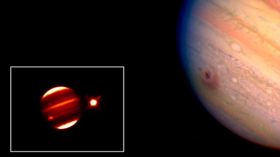 El cometa Shoemaker-Levy 9 impactó hace 25 años contra Júpiter