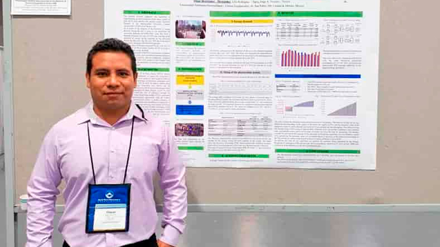 Premia Canadá a estudiante mexicano por novedoso sistema de energía solar