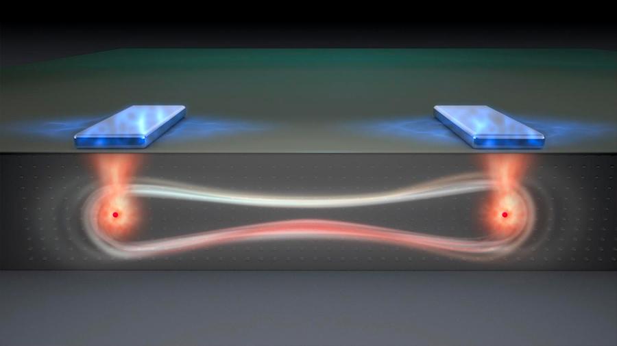 Logran operaciones cuánticas 200 veces más rápidas entre átomos de silicio