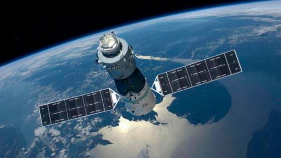 El laboratorio espacial chino Tiangong-2 cae a la Tierra bajo control