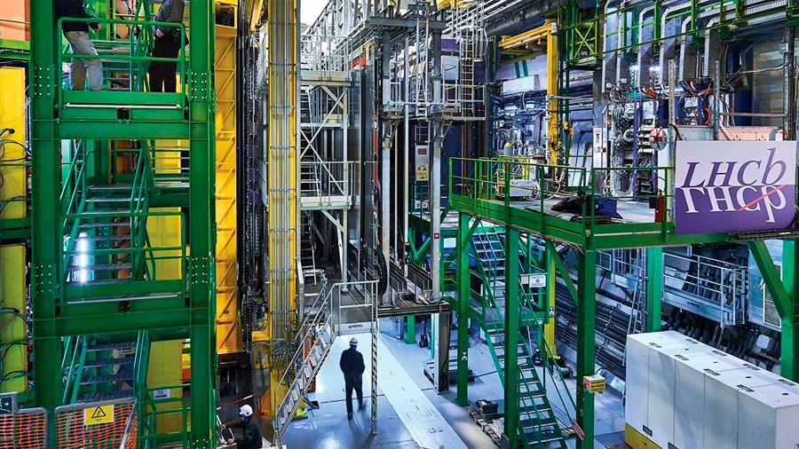 (Anti)partículas con encanto, los nuevos descubrimientos del Gran Colisionador de Hadrones (LHC)