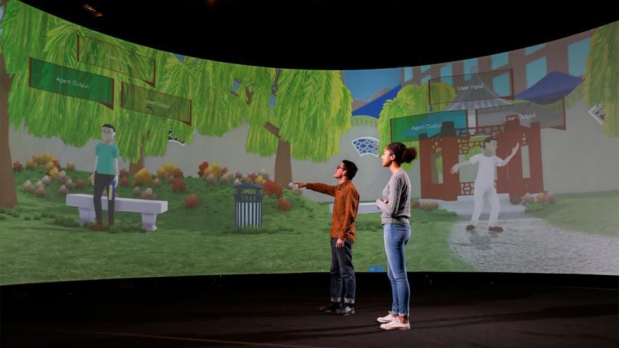Un aula virtual inteligente enseña mandarín como si estuviera en China