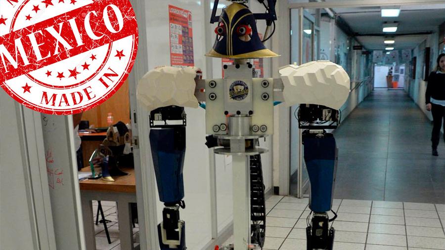 'Justina', robot de UNAM, gana segundo lugar en certamen internacional