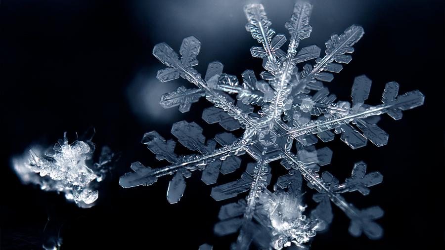 Blanca electricidad: obtienen energía a partir de copos de nieve
