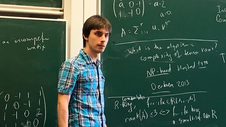 Yaroslav Shitov, el matemático ruso de 30 años que refutó una conjetura no resuelta en medio siglo