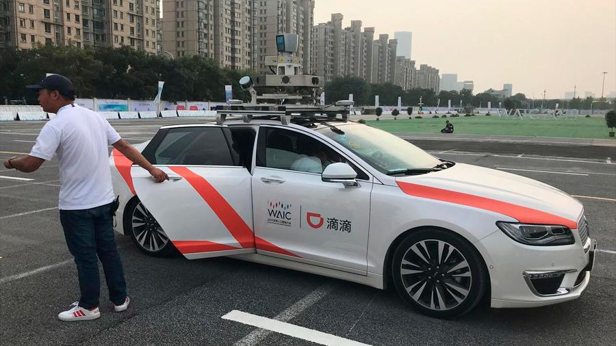 Didi, el Uber chino, arranca el taxi sin conductor: así funciona